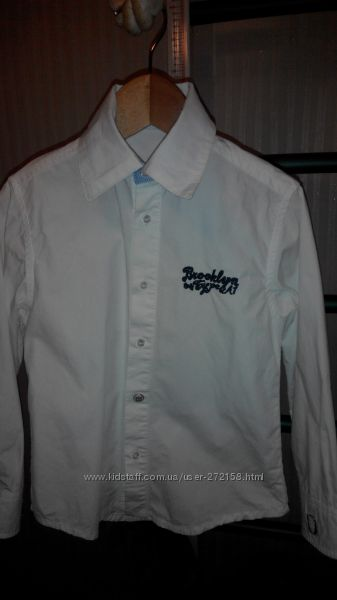 Итальянская рубашка Type-A1 на 4-5 лет