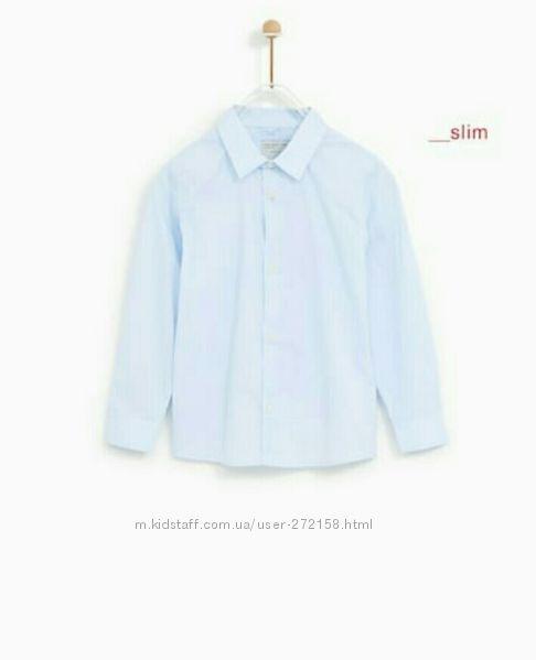 Zara рубашка для мальчика на 9 лет