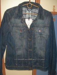 Оригинальный женский джинсовый пиджак TOM TAILOR. Новый
