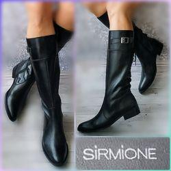 40-41р Кожа Новые Италия Sirmione кожаные деми сапоги