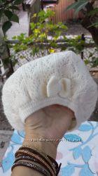 Фирменные немецкие шапочки H&M для маленькой модницы