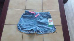 Новые фирменные  шорты H&M размер 122