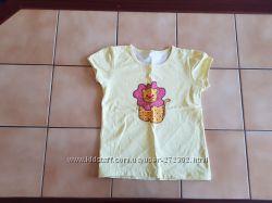 Отличные фирменные футболки для девочки 116
