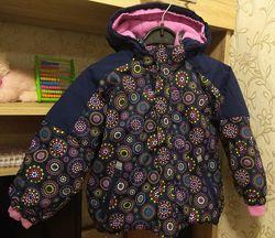 Деми куртка Kiki&Koko на рост 104 см. для девочки в отличном состоянии