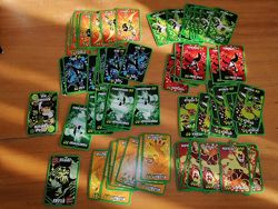 Карточки Bakugan, Ben 10