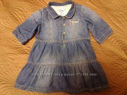 Джинсовое платье Levi&acutes