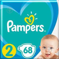 Подгузник Pampers New Baby Mini Размер 2 4 - 8 кг, 68 шт.