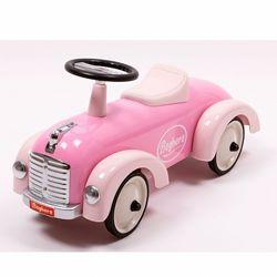Детская машинка толокар Speedster Classic Rose Premium класса Baghera