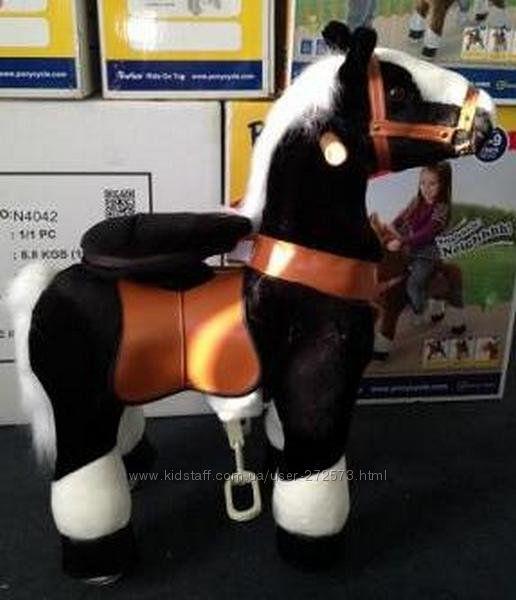 Поницикл Ночка белое копытце средний от 3 до 10 лет оригинал Ponycycle