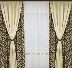 готовые шторы комплект