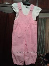 Красивый светло розовый комплект Mothercare 86 см