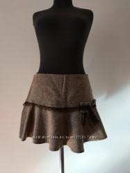 Шерстяная юбка River Island 42 размер
