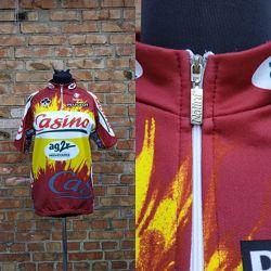 Велосипедный джерси велокофта Peugeot Nalini Италия Размер 5