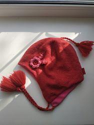 Фирменная теплая шапочка Stemtaler Германия 53 размер