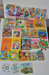 Книги и журналы детские очень много от 1года  до школы