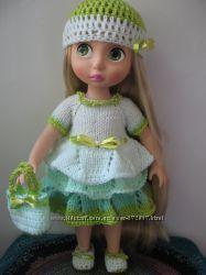 Вязанная одежда для кукол Disney animators