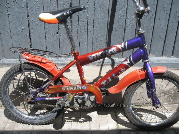 Велосипед детский 2-х колесный от 6 до 8-ми лет.