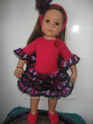 Одежда вязанная для куклы Gotz  Готц дешево