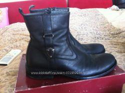 Кожаные ботинки Walkid