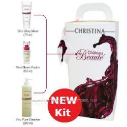 Набор 3 препарата Chateau de Beaute Christina