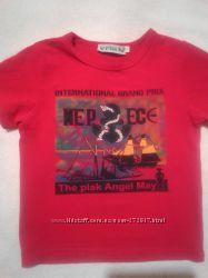 классные футболки для мальчика 4-5лет рост104-110см