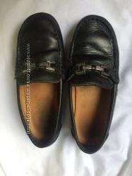 туфли кожа черного цвета, размер 32, стелька20, GEOX