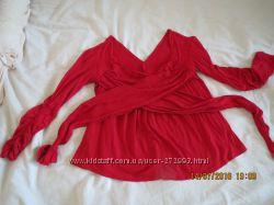 Блуза, реглан, трикотаж