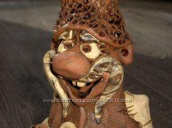 Копилка керамика Дядечка-казачок новая очень красивая