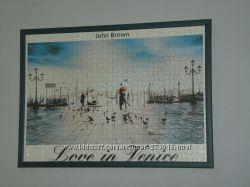 Картина из пазлов 73, 5х53, 5см Любовь в Венеции в раме