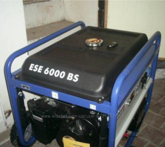 миниэлектростанция  генератор Endress ESE 6000 BS ES