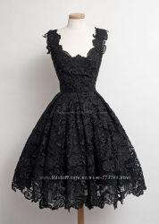 Платье из гипюра Black
