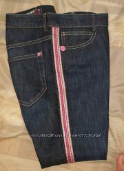 Капри синие джинс, размер М, цена 950 р