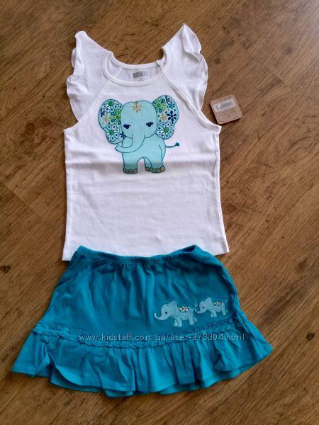 Комплект - юбка и футболка crazy8