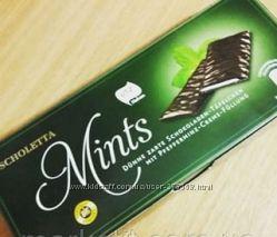 Шоколад с мятной начинкой. Бесплатная доставка по Киеву от 800грн