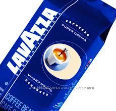 Кофе Lavazza Сrema aroma и другие виды. Бесплатная доставка поКиеву от800гр