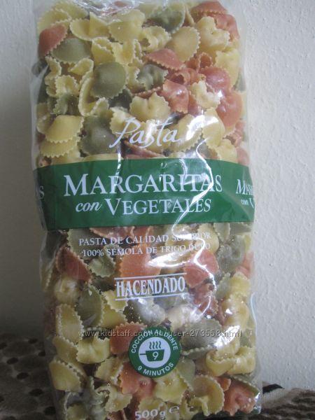 Цветные макароны форма Margaritas Испания 500г 69грн