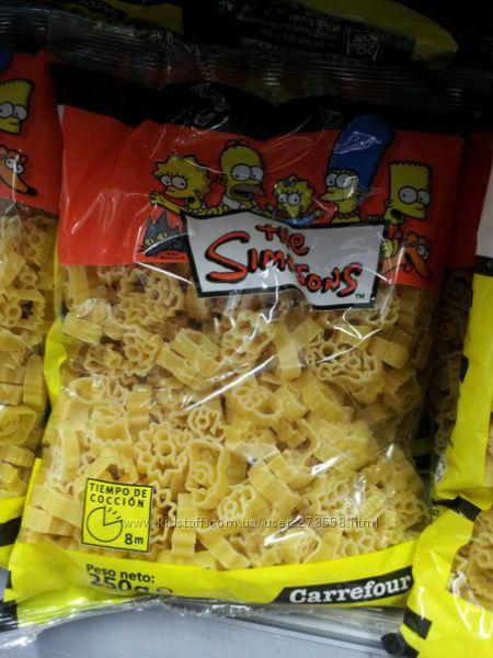 Детские макароны The Simpsons 250г-55грн