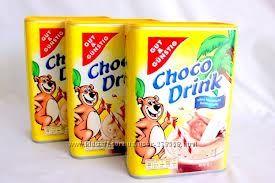 КАКАО CHOCO DRINK( Германия) 800г -129грн