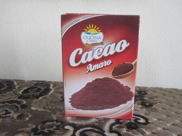 Какао для приготовления тирамису и др..75г-55грн