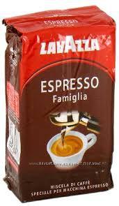 LAVAZZA ESPRESSO FAMIGLIA 250г-125грн