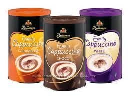 КАПУЧИНО  BELLAROM Германия 3вида карамель, шоколад, молочный 500г-135грн