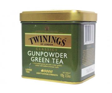 Чай Twinings  Gunpovder Green Tea  жб 100г-169грн