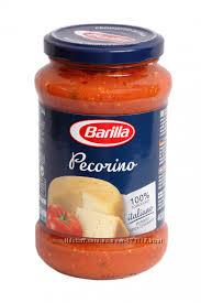 Соус barilla с сыром пекорино 420г-75грн