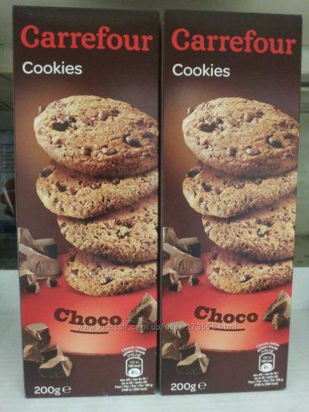 Печенье Cookes с шоколадом  200г-72грн