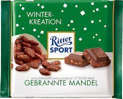 шоколад Ritter sport 33грн