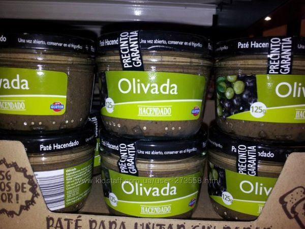 Паштет из черных и зеленых оливок  Испания 125г-65грн