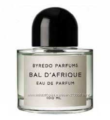 Bal dAfrique Byredo, ниша, распив, оригинал