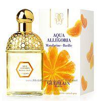 Guerlain aqua allegoria mandarine basilic и новин, распив, оригинал, распив