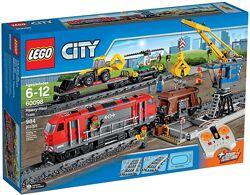 Lego city 60098 Heavy-Haul Train Мощный грузовой поезд