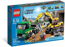Lego city 4200 4201 4203 Шахта НОВЫЕ НАБОРЫ